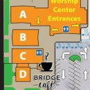 bridge cafe on campus map